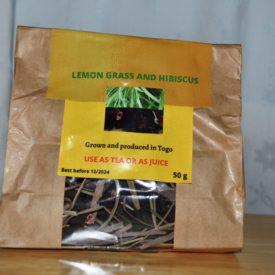 Lemon grass and Hibiscus